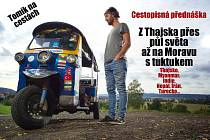Tuktukem z Thajska až na Moravu s Tomíkem na Cestách