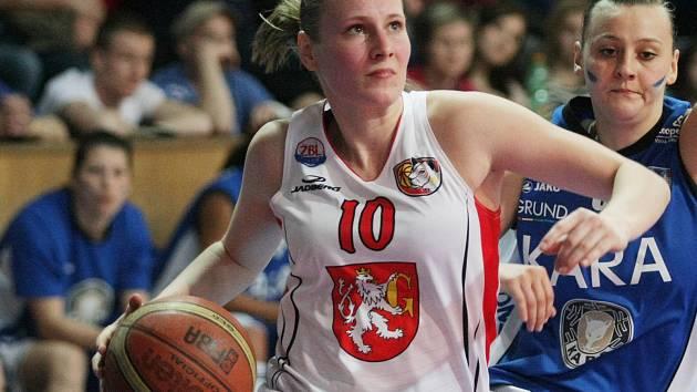 Basketbalistka Michaela Stará.
