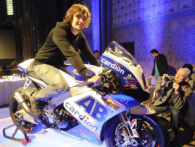 Nový motocykl Aprilia ART brněnského jezdce Karla Abrahama