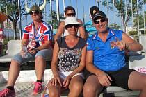 V katarském Dauhá Svatopluk Buchta sledoval mistrovství světa s manželkou Dagmar.