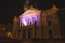 Maják české kultury na Mahenově divadle.