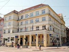 Brno-Královo Pole - radnice.