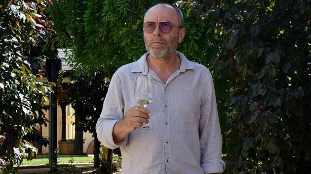 Končící prezident Svazu vinařů Tibor Nyitray.