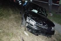 Při nehodě na dálnici bylo zraněno sedm lidí.