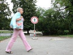 ILUSTRAČNÍ FOTO: Oprava parku na Moravském náměstí.