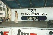 Královna krásy České republiky ještě jako dítě.