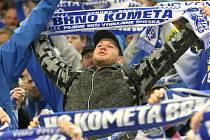 Fanoušci Komety Brno. Ilustrační foto.