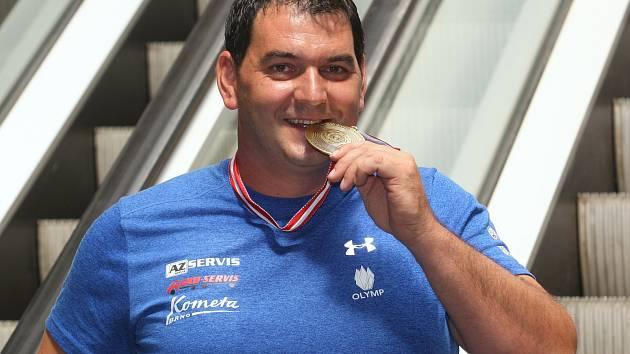 Jiří Lipták vystřílel bronz v trapu na Mistrovství Evropy v Rakousku.