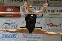 Sportovní gymnastka Kristýna Pálešová.