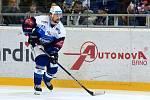 HC Kometa Brno v modrém (Tomáš Malec) proti HC Sparta Praha.