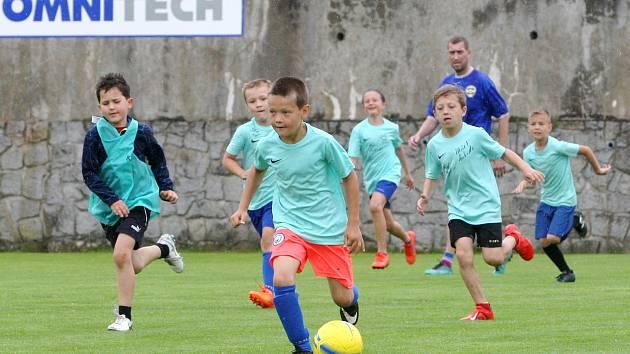 Rosice 3.7.2020 - fotbalový kemp dětí a mládeže Petra Švancary v Rosicích