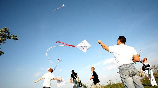 Drakiáda a akce oslavující dýně jsou oblíbenou podzimní zábavou.