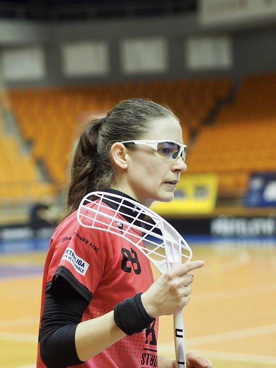 Florbalistka Andrea Dernerová oblékala židenický dres třináct let.