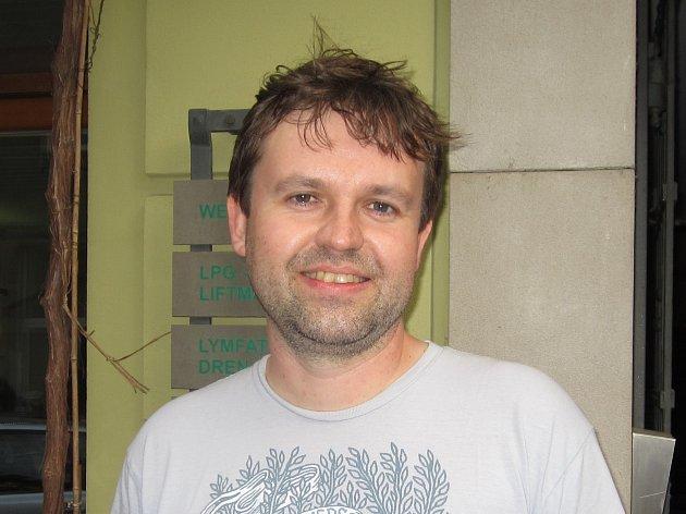 Výrobce zmrzliny Petr Zahnáš.