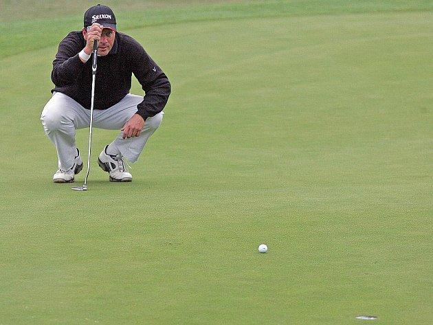 Česká golfová špička se sjela do jinačovického areálu Kaskáda, aby tam zakončila nejprestižnější domácí sérii CZECH PGA TOUR.