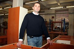 Milan Blumaier - spolumajitel firmy KLVAŇA-nábytek
