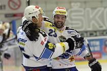 Brněnští hokejisté dali nejvíc branek v sezoně. Nad rozjetými Oceláři vyhráli 6:3 a přeskočili je v tabulce.