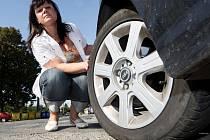 Renata Ludvíková po letech uspěla a vysoudila peníze za opravu kola, které zničila v neoznačeném výmolu.