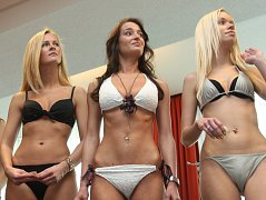 Casting na Miss Brno 2009.