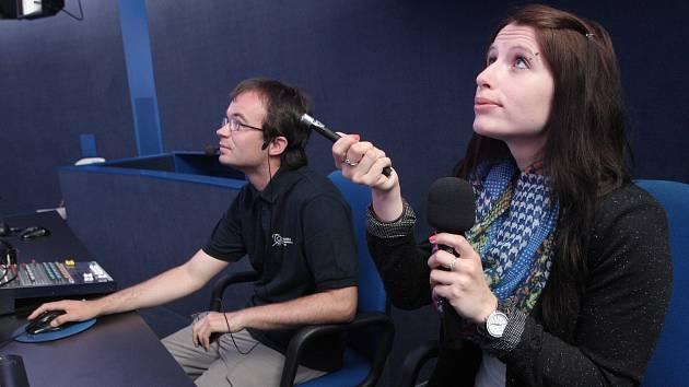 Redaktorka Brněnského deníku Rovnost Hana Florianová si vyzkoušela práci na brněnské hvězdárně.