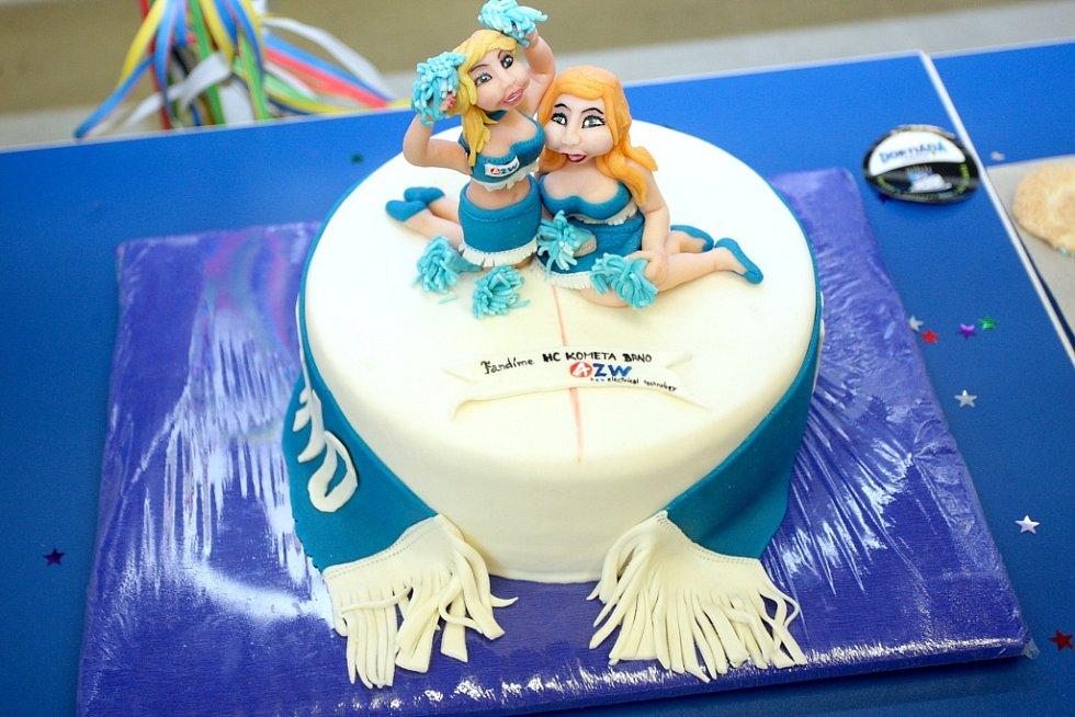 8d6d498d90 Fanoušci Komety soutěžili o nejlepší dort.