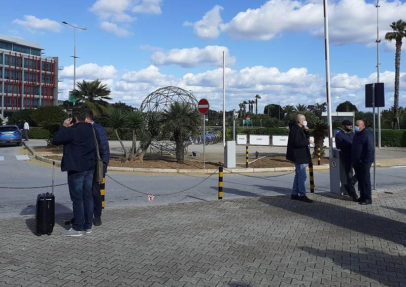 Fotbalisté Zbrojovky v pondělí před polednem doletěli na Maltu, kde mají týdenní soustředění.