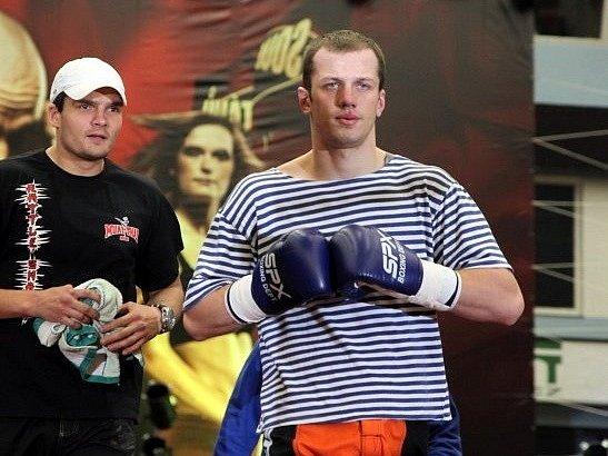Zdeněk Pernica alias Gauny (vpravo).