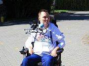 Nejúspěšnější český tenista na vozíku Miroslav Brychta.