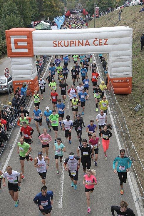 Běžecký závod Vokolo príglu 2016.
