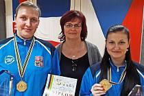 Sportovcům Brna-venkov vládne kuželkářka Topičová (vpravo)