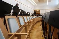 Skončila třetí etapa rekonstrukce Janáčkova divadla. Lidé v něm uvidí nové zákaznické centrum, divadelníci využívají zrekonstruované zázemí i nové sauny.