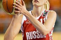 Basketbalistka Maria Stěpanovová.