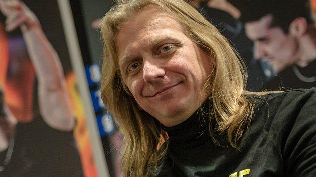 Krasobruslař Jozef Sabovčík.