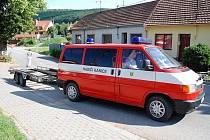 Dobrovolní hasiči z Kanic.