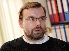 Ředitel Archaia Brno David Merta.