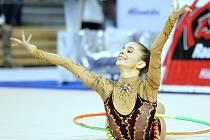 Gymnastka Míčková byla na GP v Brně druhá za sestavu s míčem