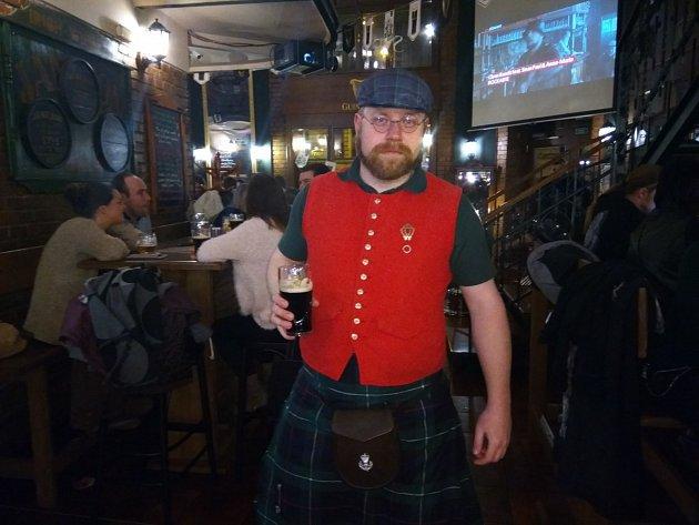 Brňané oslavili Den svatého Patrika tmavým pivem a irskou hudbou
