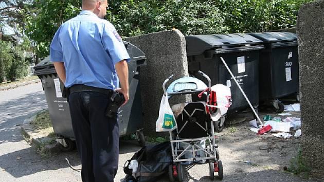 Strážník a nalezené dítě