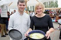 Brněnský Street food festival.