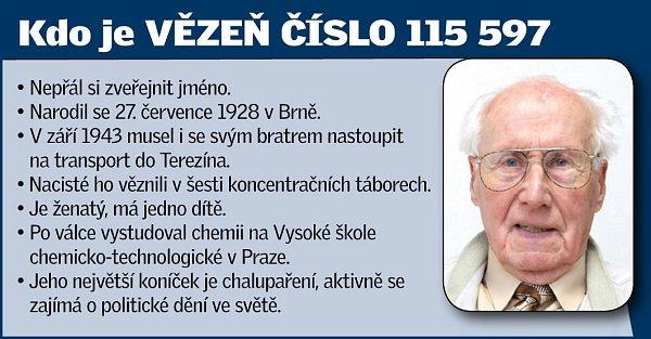 Vězeň číslo 115597.