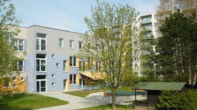Dětské rehabilitační centrum Medvídek v brněnské Kyjevské ulici.