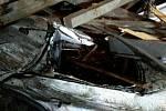 Silný vítr v sobotu v noci zaměstnal jihomoravské hasiče.