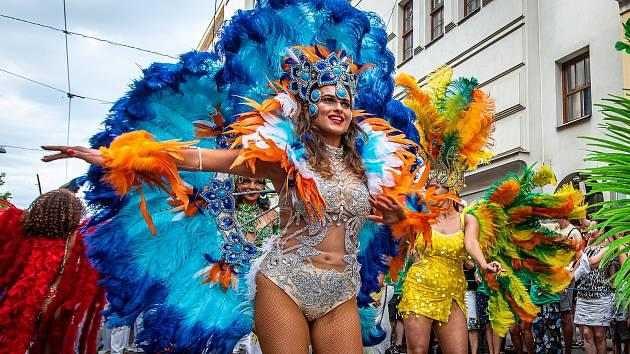 Příznivci hudby, dobrého jídla a tance zažili tradiční brazilskou kulturu na vlastní kůži přímo v centru Brna.