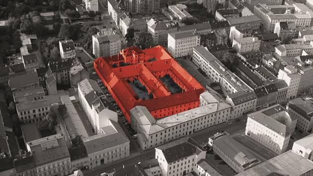 Bývalá brněnská káznice mezi ulicemi Bratislavská, Soudní a Cejl. Ilustrační foto.