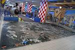 V brněnském Technickém muzeu lidé po otevření najdou speciální leteckou mapu Brna. Mohou se po ní i projít.