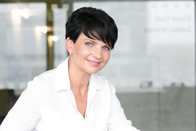 Ředitelka krajských záchranářů Hana Albrechtová.