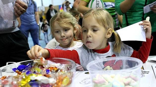 Jedenáct brněnských sportovních klubů připravilo zábavné dopoledne pro děti od tří do jedenácti let.