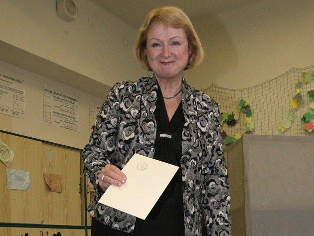 Jihomoravská jednička Strany zelených do parlamentních voleb Jitka Seitlová.