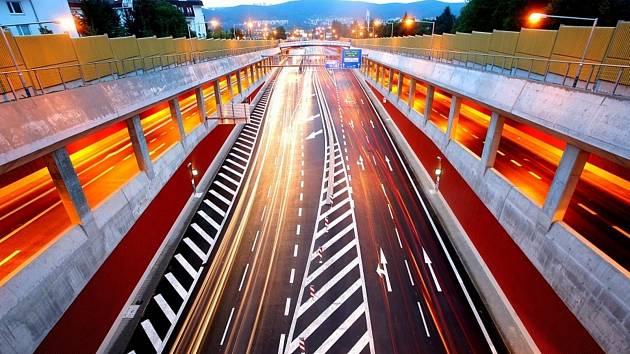Královopolské tunely v Brně.