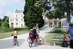 Zámecký park v Lednici na Břeclavsku před pár lety.